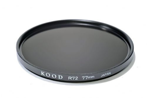 Kood R720  Infrared Special Effects Slim Ring Filter 77mm Made in Japan